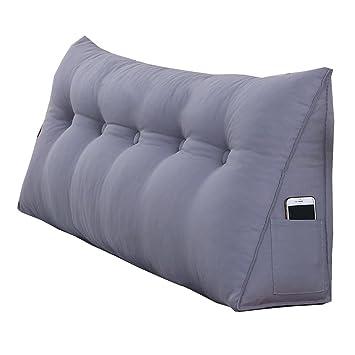 Amazon.com: Cojines de respaldo grande para cama doble ...