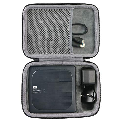 co2crea Hard Travel Case for WD My Passport Wireless Pro Portable External Hard Drive