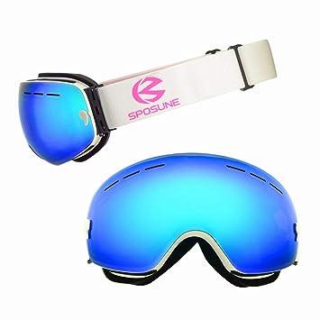 67574f04bbb Ski Glasses Double Lens UV400 Anti-Fog Ski Goggles Snow Skiing Snowboard  Motocross Goggles Ski