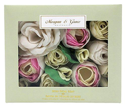 Morgan Rose Pearl (Morgan & Grace Rose Petal Soaps - 15 Soaps)