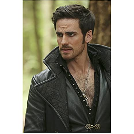 Once Upon A Time Colin Odonoghue As Captain Hook Looking Worried 8