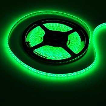 FAVOLCANO High Density Green IP65 Waterproof Led Light Strip  LED Tape  SMD  3528  600 LEDs 5 Meter or 16 4 Feet LED Strip 120 Leds M MultifunctionalAmazon com  18Ft Rope Lights  Emerald Green LED Rope Light Kit  . Green Led Rope Lighting. Home Design Ideas