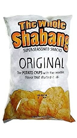 The Whole Shabang Potato Chips   (1)   6 Oz. Bag by Moon Lodge