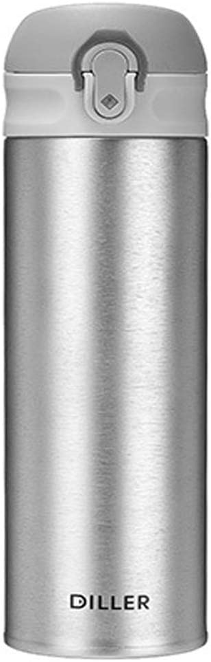 FAPROL Botella De Agua INOX 316 Hombres/Mujeres Tapa De La Copa Que Rebota Botellas De Aislamiento El Revestimiento Liso