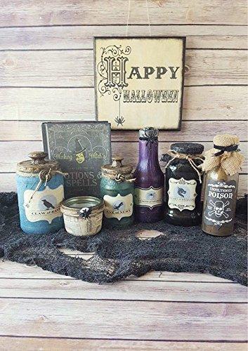 Halloween Decorations Potion Bottles -