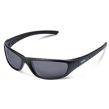 83cbed00887 Duduma Tr8116 Polarized Sports Sunglasses for Baseball Cycling Fishing Golf  Superlight Frame (black matte frame