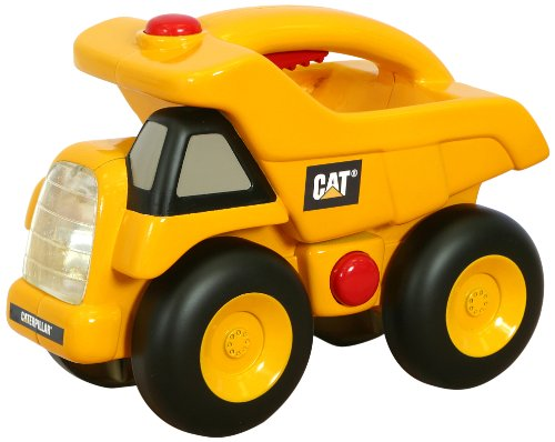 Price comparison product image Toy State Caterpillar Construction Flash Light And Night Light: Dump Truck