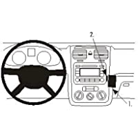 Brodit ProClip autohouder voor Volkswagen Golf 5 07-08 (Angled Mount) zwart