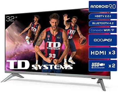 Televisiones Smart TV 32 Pulgadas HD Android