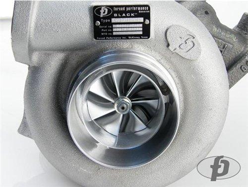 Mitsubishi Evolution 8 & 9 Forced Performance BALL BEARING Black Turbocharger