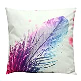 Pattern Print Stuffed Bed Throw Pillow Short Plush LivebyCare Filled Cushion Filling Bed Pillows Cover Pattern Zipper For Family Room Sofa Couch Chair Back Seat