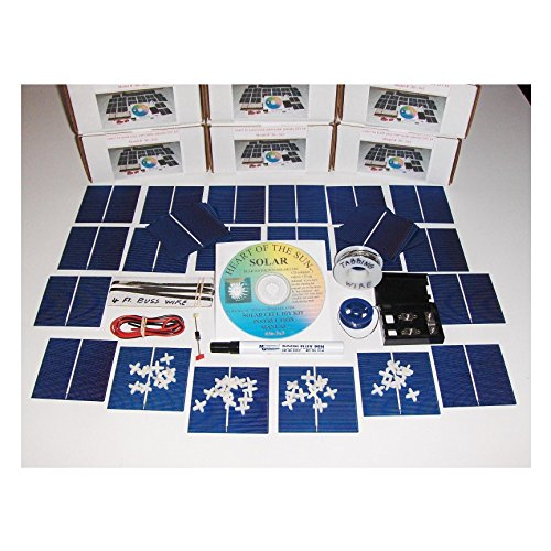 Learn to build your own solar cells panels diy kit Awesom...