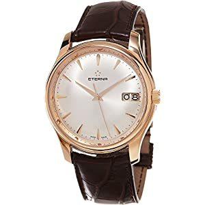 Eterna Men's 7630.69.10.1185 Vaughan Rose Gold Big Date Watch
