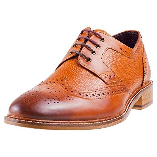 London Brogues Hamilton Derby Herren Schuhe