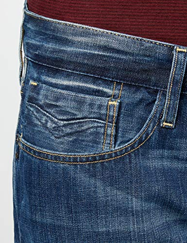 Replay Blue Denim Blu Uomo deep Jeans wqC4rTvnwf