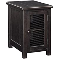 Signature Design by Ashley T835-7 Sharlowe Chair Side End Table, Charcoal