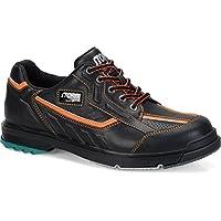 嵐sp3メンズボーリング靴ブラック/オレンジWide、9.5