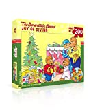 New York Puzzle Company - Berenstain Joy of Giving - 200 Piece Jigsaw Puzzle