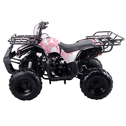 Coolster ARMY PINK 3125R New 125CC Kids ATV Fully Auto with Reverse by CRT MOTOR INC -US (Image #2)