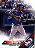 2016 Topps Update #US186 Melvin Upton Jr. Toronto Blue Jays Baseball Card in Protective Screwdown Display Case