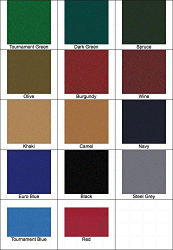 (8' Proform High Speed Professional Pool Table Cloth Felt - Tournament Green)