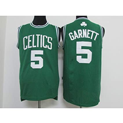 timeless design 24185 975f3 ATI NICE Men's KG Kevin Garnett # 5 Boston Celtics ...