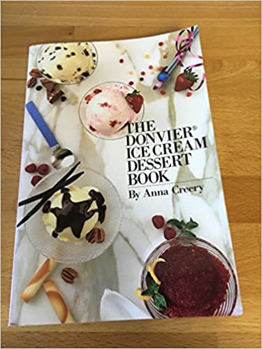 The Donvier Ice Cream Dessert Book