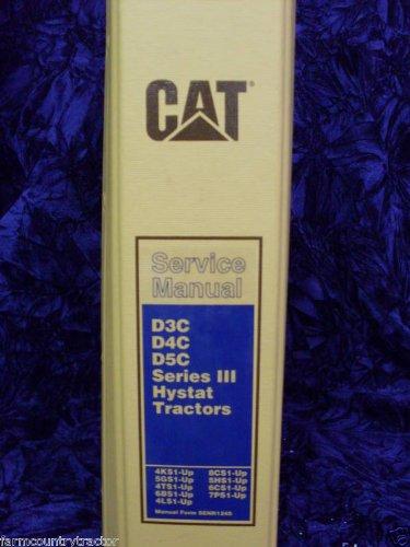 Caterpillar D3C/D4C/D5C Series III Serivce Manual