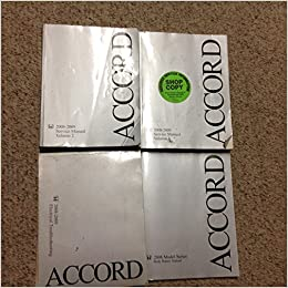 accord service manual 2008
