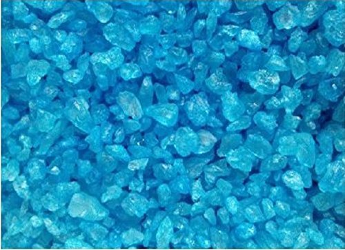 Blue Raspberry Rock Candy Crystals (5 Pound Bag) (Bulk Rock Candy)