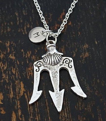 05a8c62dc2 Poseidon Trident Necklace, Neptune Trident Necklace, Poseidon Jewelry,  Neptune Jewelry, Greek Mythologie Necklace, Roman Mythologie Jewelry, Trident  Charm, ...