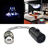 Spoya 3D Star Wars Darth Vader Night Home Bedroom Hotel Bar E26 E27 Ceiling wall CREE LED logo projection projector light spot light downlight decorative Bulb Light lamp (Darth Vader)