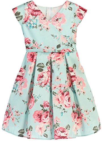 Buy floral petal sleeve dress - 5
