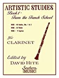 img - for Artistic Studies, Book 1 (French School): Clarinet book / textbook / text book