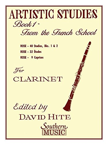 (Artistic Studies, Book 1 (French School): Clarinet)