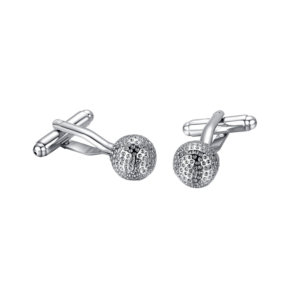 Yoursfs Cufflinks for Men Stainless Steel Funny Cufflinks for Business Wedding Fashion Jewelry TZG04403-CA