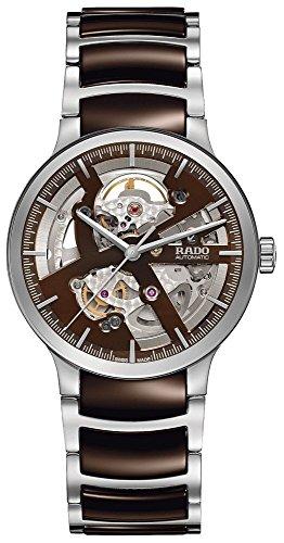 Rado Herren-Armbanduhr Armband Edelstahl + Gehäuse Automatik Zifferblatt Silber Analog R30179302