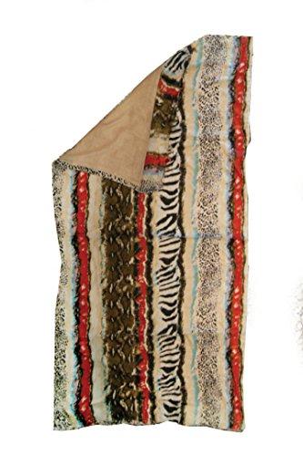 Telo Pareo double face 100% Cotone e Morbida Spugna -100X180 cm