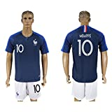 2018 Russia World Cup France Home Mens Soccer Jersey