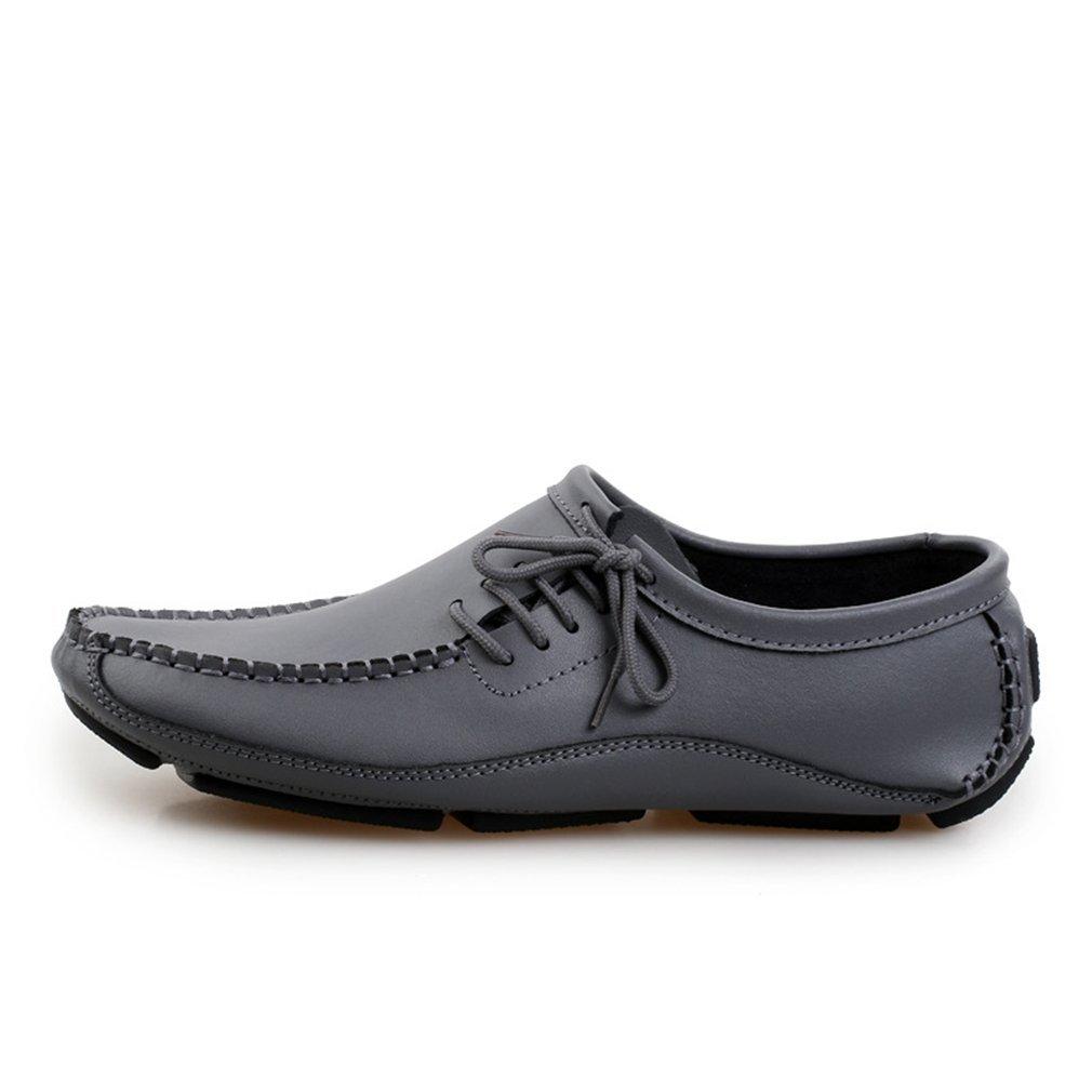 Herrenschuhe Slip On Driving Schuhe 2018 Neue Mode Frühjahr & Herbst Fahren Schuhe Flache Leder Mokassins Schuhe Casual Loafers (YAN),C,46