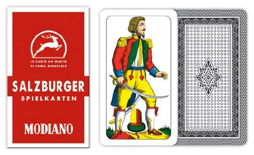 Salzburger Salsburgh 31 Italian Regional Deck 40 Playing Cards Scopa Briscola by Modiano