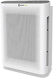 InvisiClean Aura II Air Purifier - 4-in-1 True HEPA, Ionizer, Carbon + UV Light - Air Purifier for Allergies &