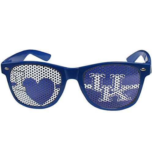 Kentucky Wildcats Heart - Siskiyou NCAA Kentucky Wildcats I Heart Game Day Shades, Blue,Adult,Blue