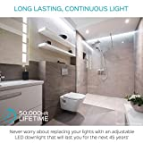 4-Pack 3 Inch LED Gimbal Recessed Light