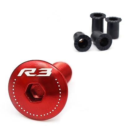 NIMBLE Black Red CNC Quick Lock Fuel Gas Cap For Yamaha YZF R6 R1 1999-2017 YZF R3 2018 2019