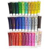 30 Colours Acrylic Nail Art Paint 3D Design Polish Set 12ml #105ALL