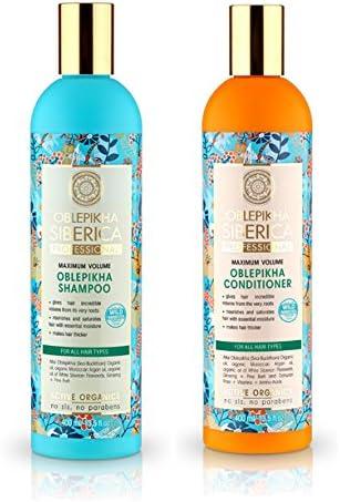Natura Siberica Professional Oblepikha Shampoo Conditioner For All Hair Types 400ml Amazon Co Uk Beauty