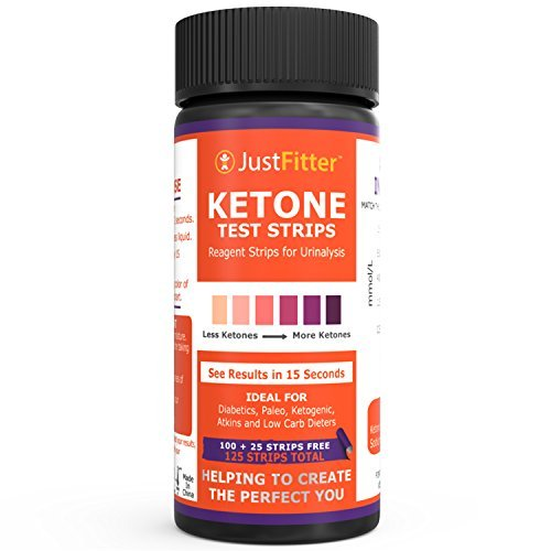 Ketone Keto Urine Test Strips. Lose Weight, Look & Feel Fabulous on a Low Carb Ketogenic or HCG Diet. Get Your Body Back! Accurately Measure Your Fat Burning Ketosis Levels by Just Fitter (Image #2)