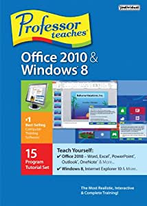 Professor Teaches Office 2010 and Windows 8
