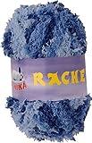 maDDma ® 50g Kuschelgarn RACHEL by VLNIKA, 100% Polyester, verschiedene, Farbe:Blautöne